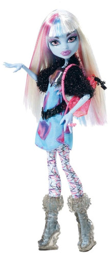 boneca monster high picture day - abbey bominable