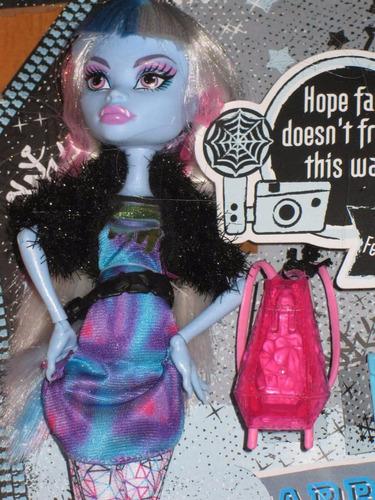 boneca monster high picture day - abbey bominable original