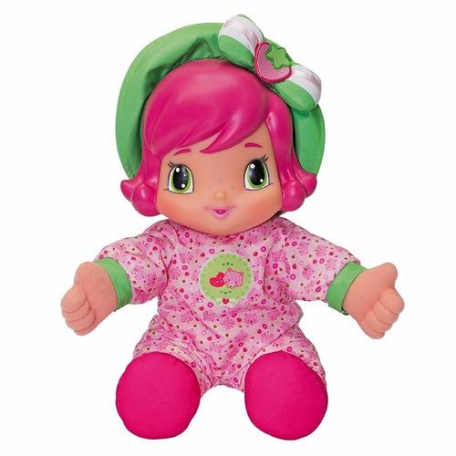 boneca moranguinho baby 33cm multibrink