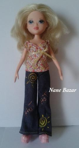 boneca moxie loira