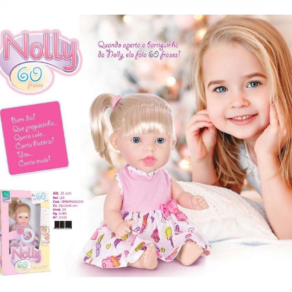 Boneca Nolli 60 Frases Com Cabelo Super Toys R 2900 Em Mercado Livre