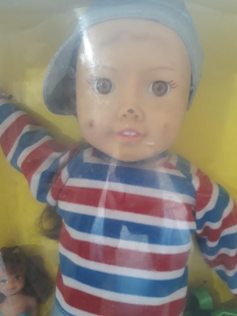 Amy A Mochila Azul boneca novela amy a menina da mochila azul mexicana sbt !
