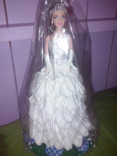 boneca para enfeitar bolo de 15 anos!