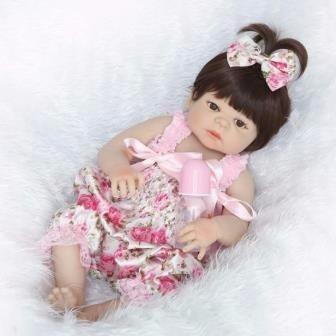 boneca parece bebe de verdade boneca reborn victoria 55 cm
