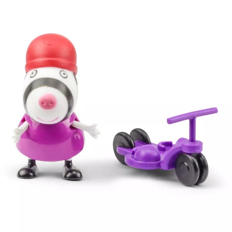 ... Boneca Peppa Pig Danny Cão Com Foguete Dtc - 4199