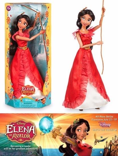 Boneca Princesa Elena De Avalor Disney Store Com Brinde R 129