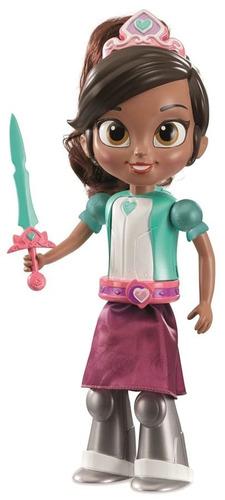 boneca princesa nella cavaleira transformação mágica com som