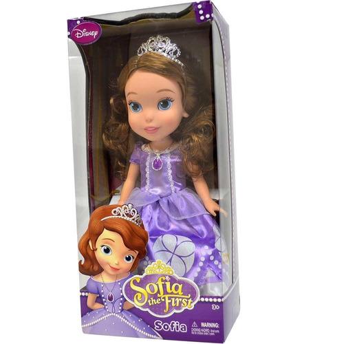 boneca princesa sofia de 30 cm