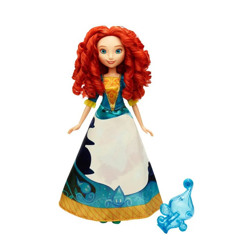boneca princesas disney vestido mágico merida hasbro