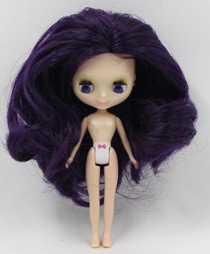 boneca pullip 10 cm mini blythe importada (ler descrição)