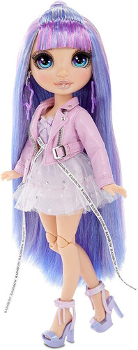 boneca rainbow high violet willow - lilás violeta
