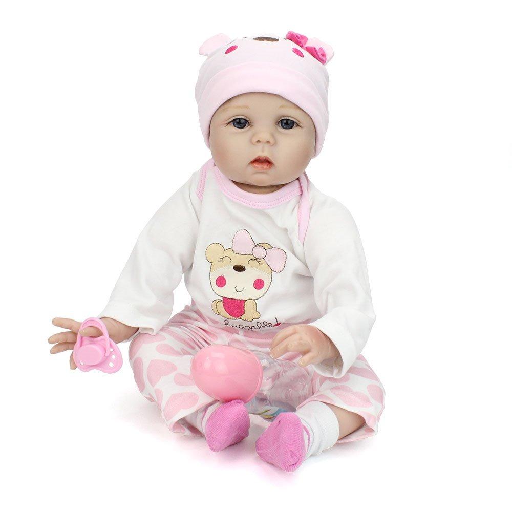 3e9f7966e boneca reborn 55 cm silicone e pano bebe recem nascido luxo. Carregando  zoom.