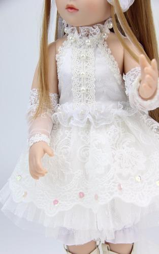 boneca reborn articulada  bjd 45 cm toda vinil sob encomenda