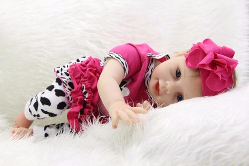 boneca reborn barata rosa linda perfeita por 466,00 reais