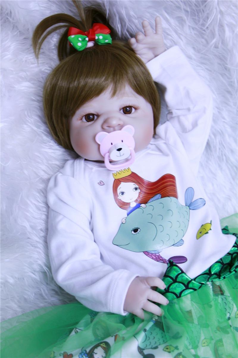 1cbe2e1969fa boneca reborn bebe menina 2018 pode dar banho 2 leia anuncio. Carregando  zoom.
