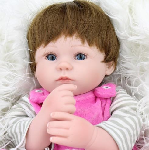 boneca reborn bebe reborn larinha realista! frete grátis!
