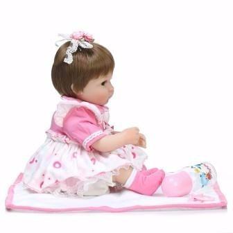 boneca reborn em promoção 335,00 reais perfeita 42cm cp2 bb