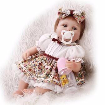 boneca reborn em promoção 339,00 reais lindíssima 42cm cp1