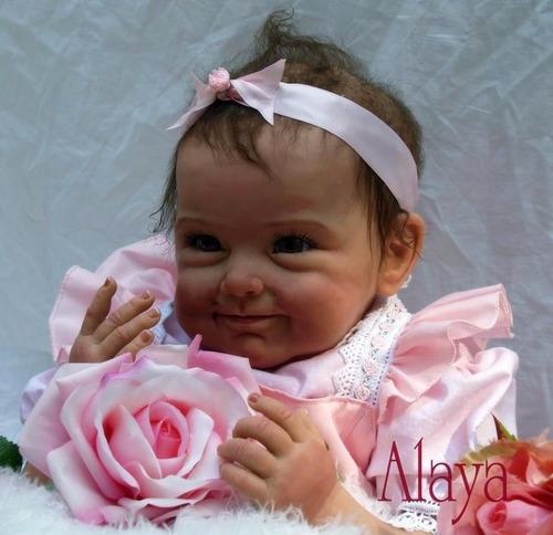 boneca reborn linda em promoção por 484,90 reais mod.alaya