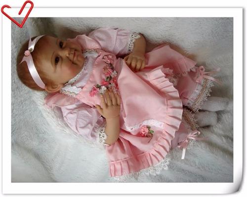 boneca reborn linda em promoção por 604,90 reais mod.alaya