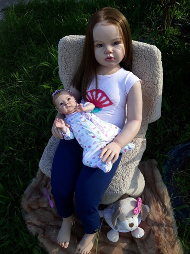 boneca reborn toddler angélica 1