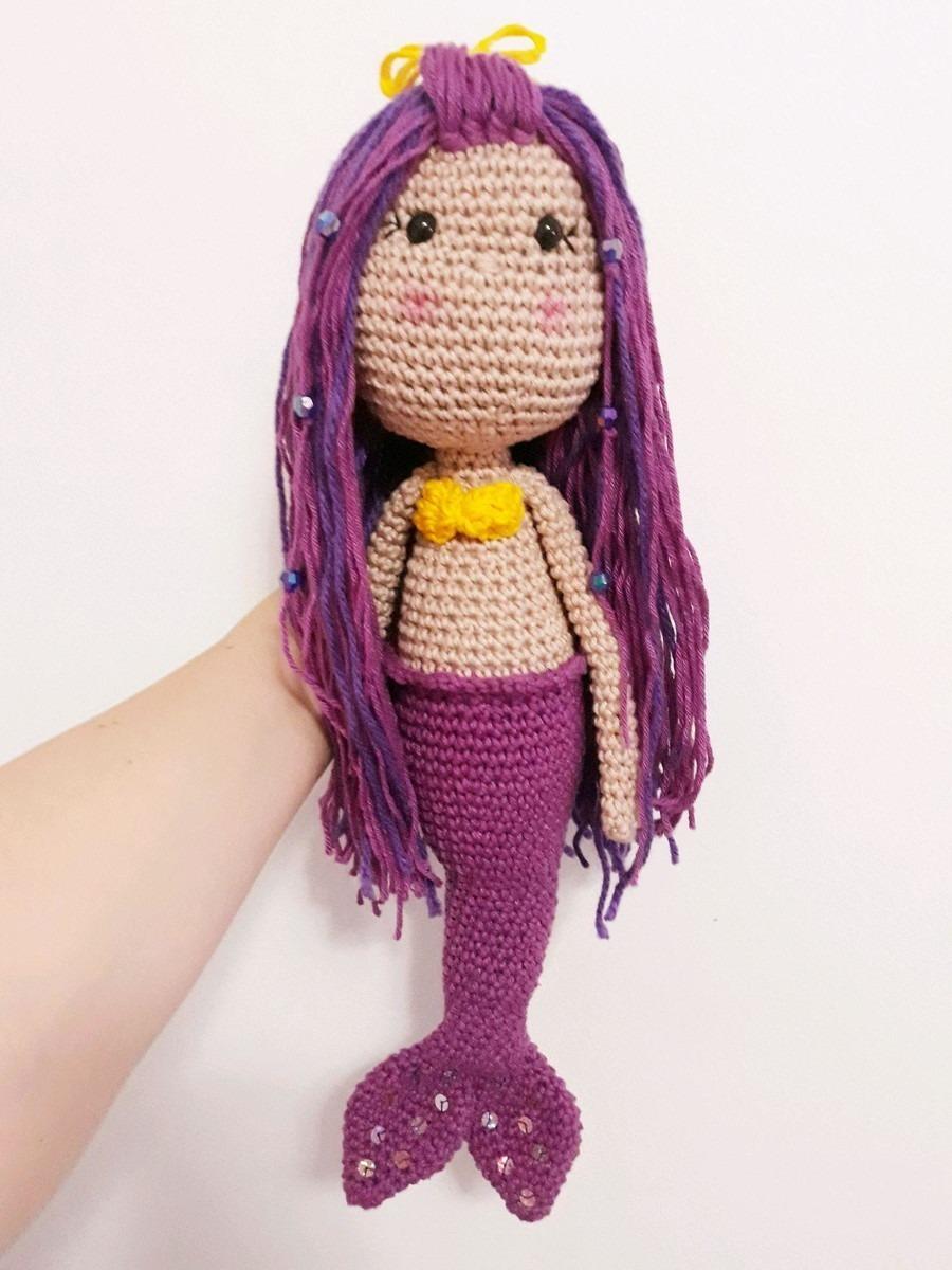 title} (com imagens)   Sereia de crochê, Bonecas de crochê ...   1200x900