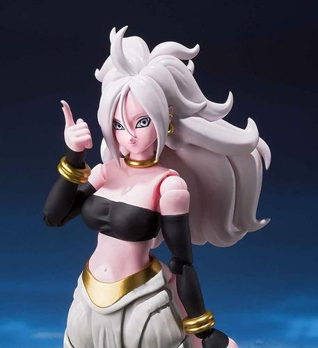 boneca sh figuarts android 21 majin dragon ball lacrado