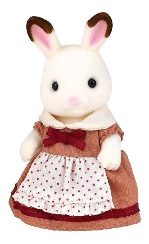 boneca sylvanian families mãe coelho magia chocolate epoch
