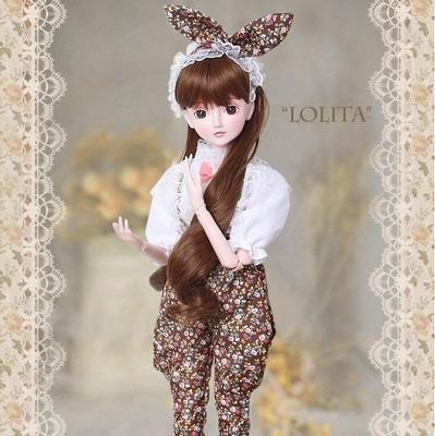 boneca tipo bjd ye luoli,modelo exclusivo por tempo limitado
