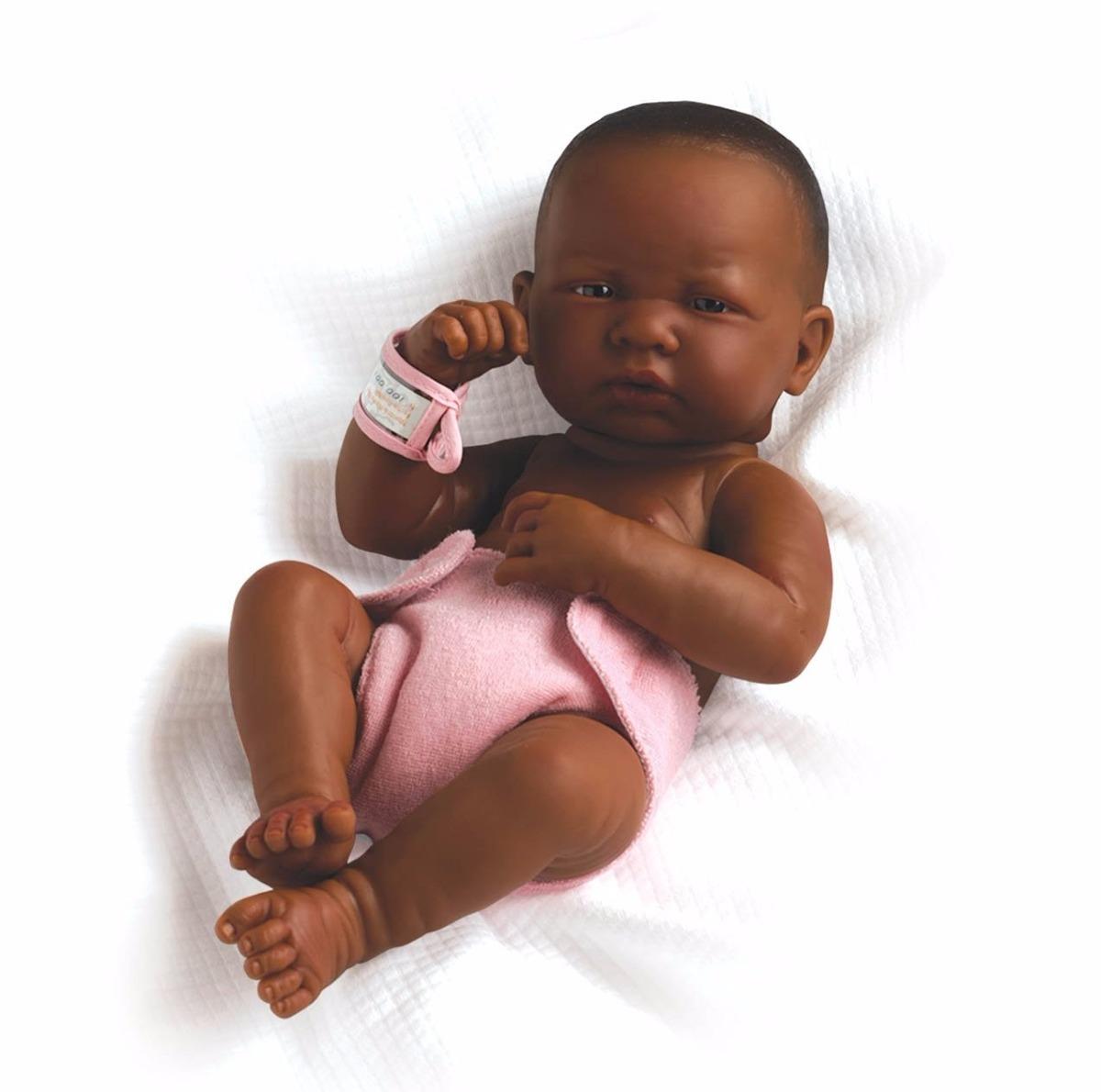 Boneca Tipo Reborn Negra Frete Gr 225 Tis R 749 99 Em