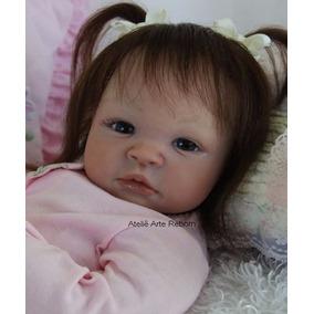 5879480a55 Bebê Reborn Menina Linda Realista Fofuxa Mercado Livre Doll