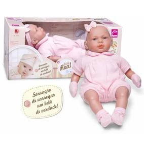 988ea182b Boneca Bebê Real Com Certidão De Nascimento 5075 - Roma
