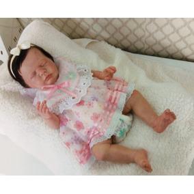 3f2fa8b89 Bebe Reborn Menina Da Ana Reborn Siliconada - Bonecas no Mercado ...