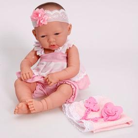 1060bc472 Boneca Baby Ninos Recem Nascida Cotiplas Tipo Reborn