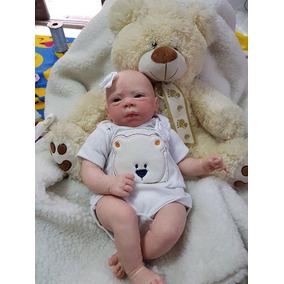 332f807ac Boneca Bebe Reborn Rafaela Menina Acordada - Bonecas no Mercado Livre Brasil