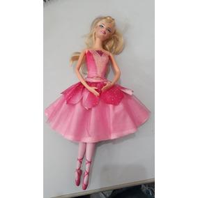 c5b697aa74 Bailarina Odette Barbie E As Sapatilhas Mágicas X8814 - Bonecas ...