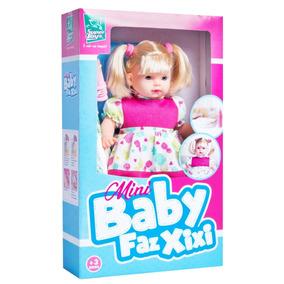 1ca5dc5d12 Xixi Nenem Com Mamadeira Fraldinha Bonecas E Acessorios - Brinquedos ...