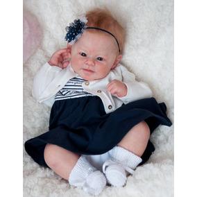 9da9994a0b Beb㪠Reborn Quase Gente Boneca Bonecas Acessorios Bebe no Mercado Livre  Brasil