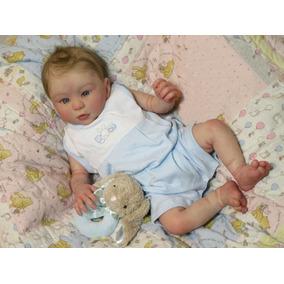 685435c48 Bebê Reborn Corpo Inteiro Vinil Siliconado Menino Kit Kylin. R  1.999