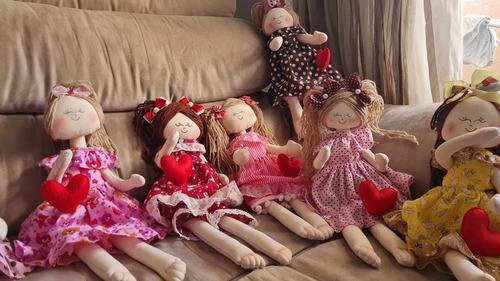 bonecas artesanais de pano