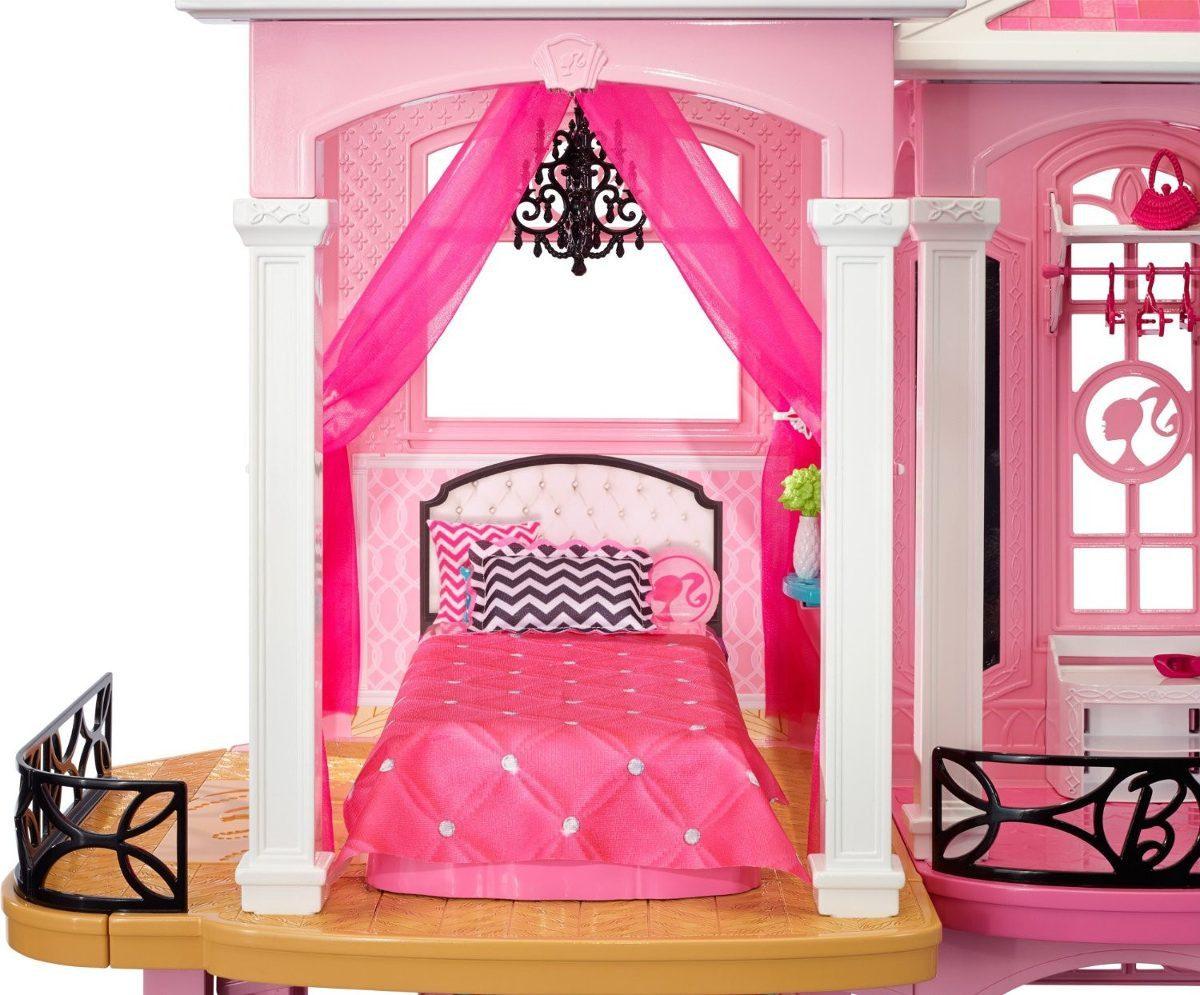 Super Casa De Bonecas Da Barbie Dream House Brinquedo R
