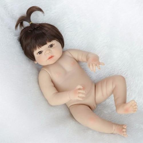 99757b2ee23 Bonecas Bebê Reborn Corpo Silicone Menina Pronta Entrega S44