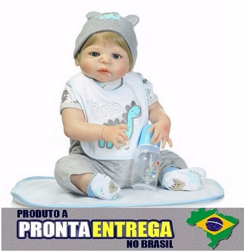 0aa37ae32 bonecas bebê reborn corpo silicone menino pronta entrega 02. Carregando zoom .