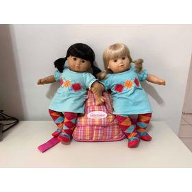 Bonecas Bitty Twins Gêmeas Raridade + Enxoval Bitty Baby