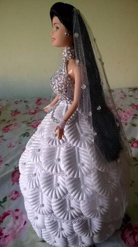 bonecas lindas artesanais e.v.a