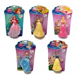 Bonecas Princesas Disney Miniaturas Coleção Unidade 17,00