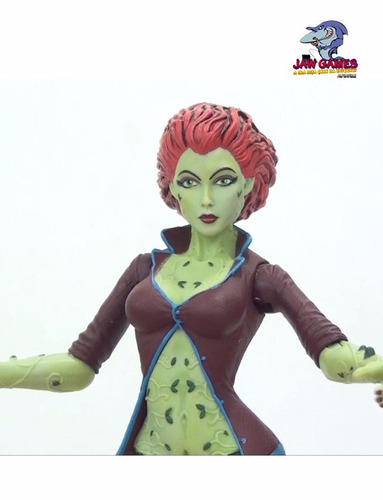 boneco action figure - batman arkham city - poison ivy