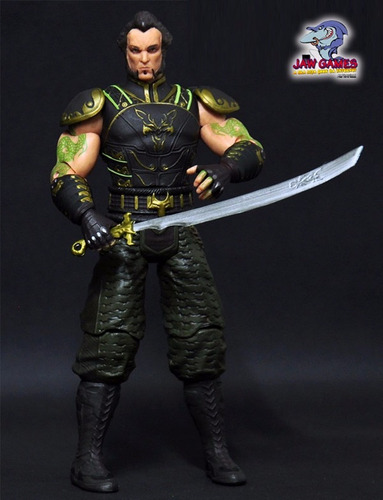 boneco action figure - batman arkham city - ra's al ghul