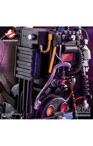 boneco action figure egon - ghostbusters 1/10 - iron studios
