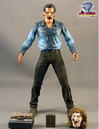 boneco action figure - evil dead 2 - deadite ash